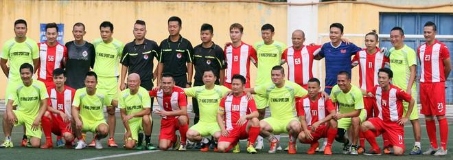 """Bằng Kiều """"đối đầu"""" Hồng Sơn trong trận đấu bóng đá từ thiện đầy ý nghĩa ảnh 15"""