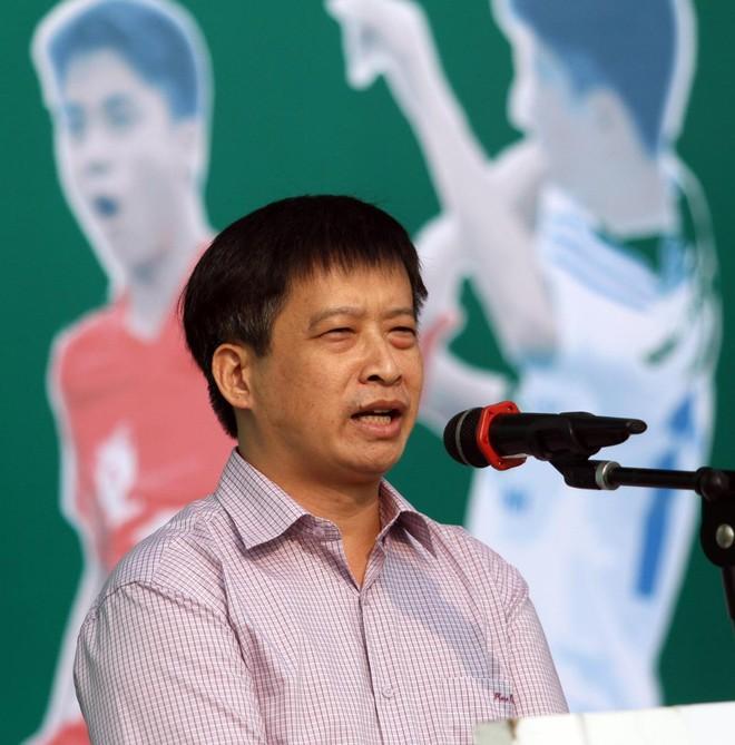 Tưng bừng khai mạc giải bóng đá học sinh THPT Hà Nội - Báo ANTĐ 2016 ảnh 3