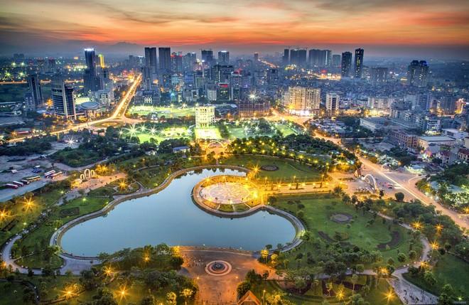Đà phát triển phía tây Hà Nội - Tác giả Nguyễn Hoàng Hiển (giải Nhì)