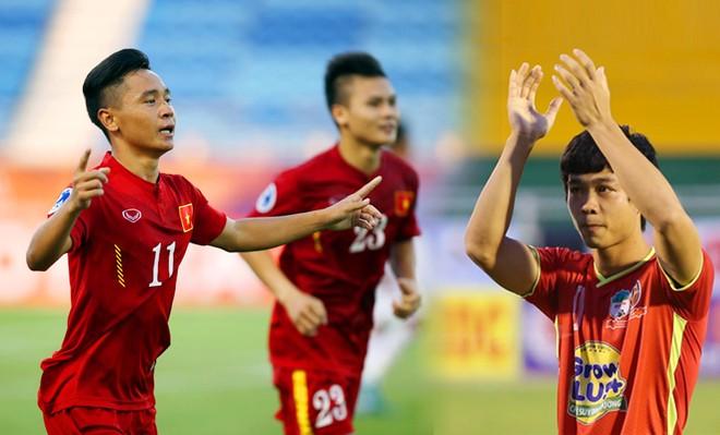 U19 hiện tại (trái) vượt lứa Công Phượng và các lứa đàn anh về thành tích giải châu Á