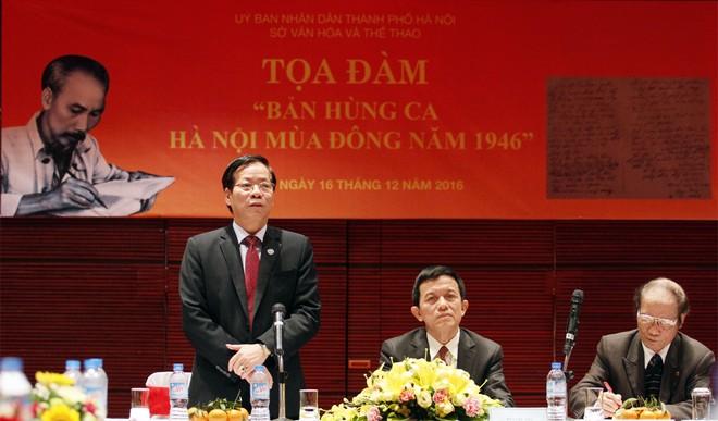 Phó Giám đốc Sở VH-TT Trương Minh Tiến cho biết, Sở cùng các đơn vị liên quan đã, đang và tiếp tục biến các di tích lịch sử liên quan tới sự kiện Toàn quốc kháng chiến thành điểm đến hấp dẫn, ý nghĩa thu hút đông đảo quần chúng nhân dân