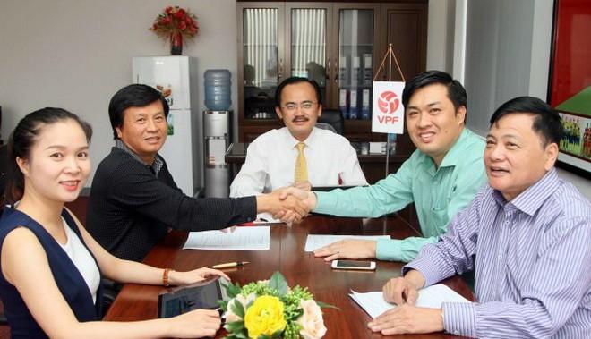 VPF đạt nhiều thỏa thuận với đối tác tài trợ trong mùa 2017