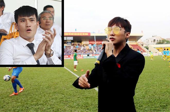 Lê Công Vinh mời Sơn Tùng MTP tới sân Thống Nhất biểu diễn để hút khán giả