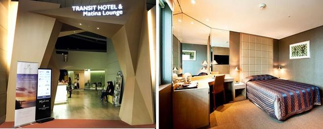 Khu dịch vụ khách sạn tại sân bay Incheon với phòng ốc đầy đủ tiện nghi