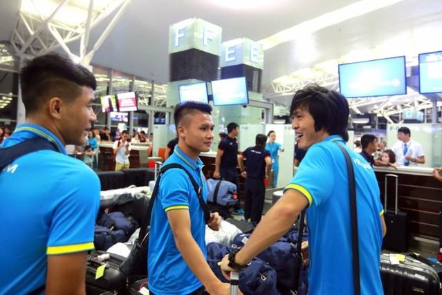 U22 Việt Nam dự kiến ngủ qua đêm tại sân bay quốc tế Incheon