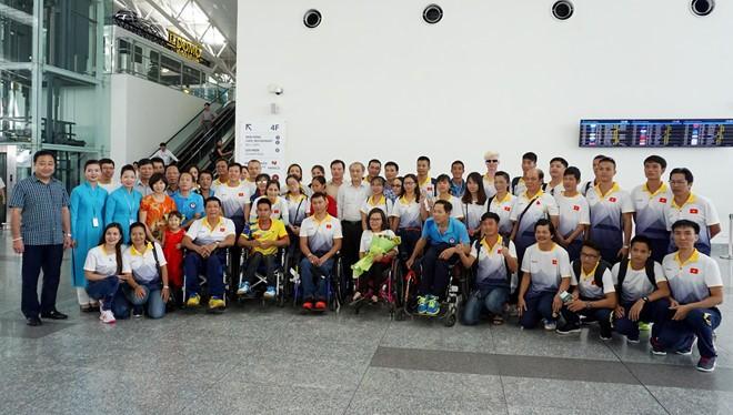 Đại quân đoàn Thể thao Người khuyết tật Việt Nam đã có mặt tại Malaysia
