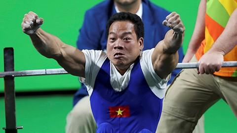 Lực sỹ cử tạ Lê Văn Công - đương kim vô địch Paralympic, sẽ là một trong những mũi nhọn của đoàn Việt Nam tại Para Games 2017