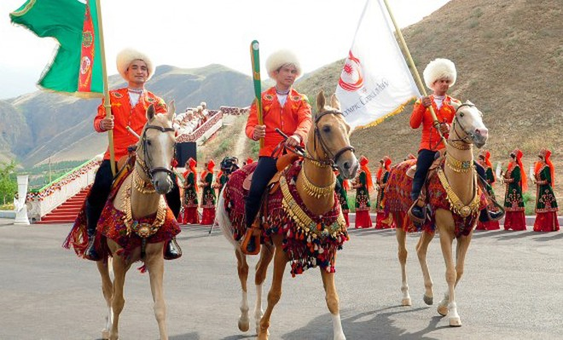 Ngựa, lạc đà - những động vật thân thuộc với cuộc sống, lịch sử văn hóa nước chủ nhà Turkmenistan cũng sẽ xuất hiện trong đêm khai mạc AIMAG 5