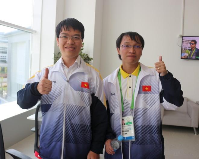 Quang Liêm - Trường Sơn thắng đối thủ Trung Quốc để giành HCV thứ 12 cho Việt Nam