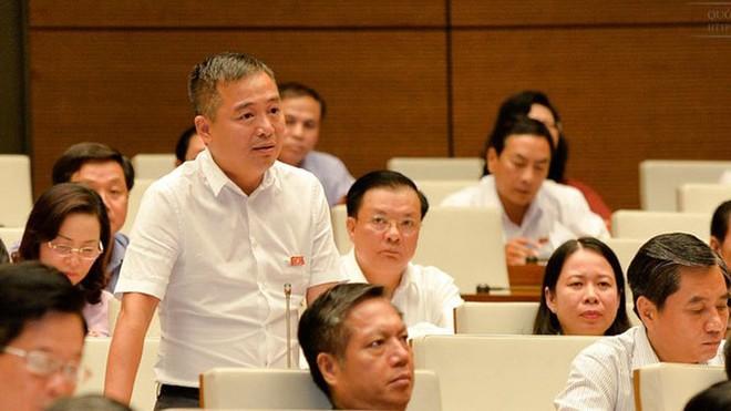 ĐB Nguyễn Lân Hiếu phát biểu thảo luận