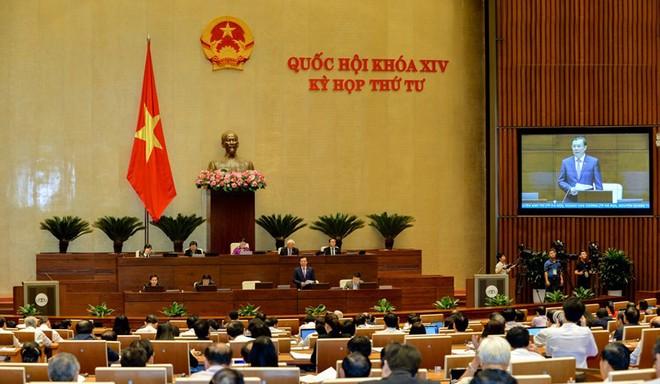 Quang cảnh Quốc hội trong phiên chất vấn ngày 16-11