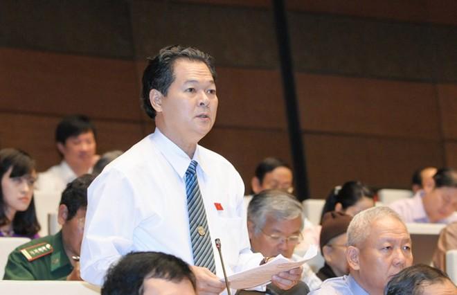 Đại biểu Trương Minh Hoàng truy vấn lời hứa thu thuế nợ đọng của