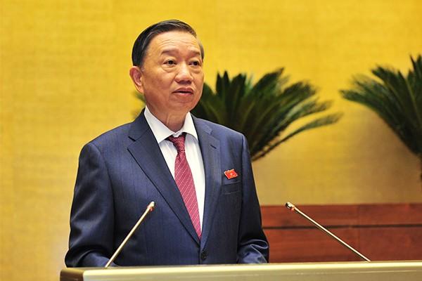 Bộ trưởng Bộ Công an Tô Lâm khẳng định, Luật An ninh mạng rất quan trọng để góp phần bảo đảm an ninh quốc gia, an toàn xã hội
