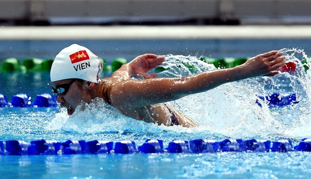 Nguyễn Thị Ánh Viên giành nhiều HCV nhất SEA Games 29: 8 HCV