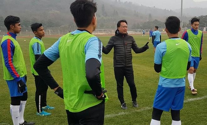 U23 Malaysia mất cơ hội đá tập với U23 Syria do thời tiết khắc nghiệt tại Trung Quốc