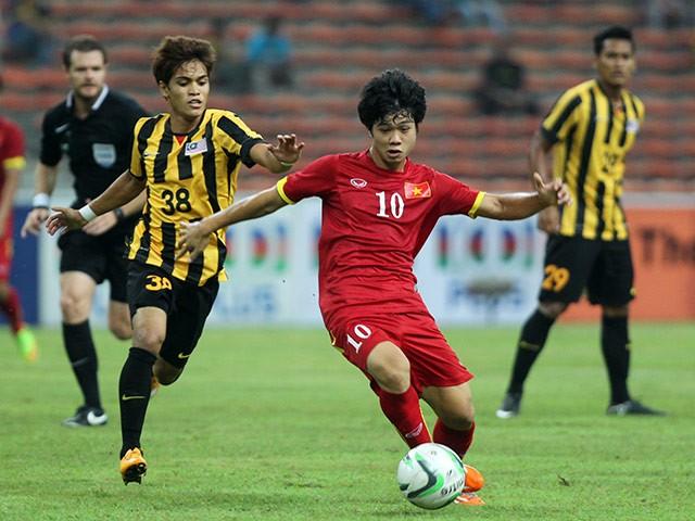 Nếu nhất bảng, U23 Việt Nam (áo đỏ) sẽ cùng U23 Malaysia tạo nên trận derby Đông Nam Á lịch sử tại giải U23 châu Á