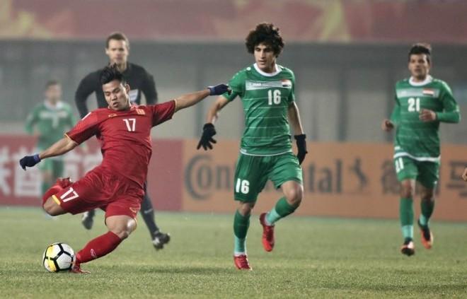 Văn Thanh kiệt sức sau 3 trận vòng bảng, vẫn lăn xả tới phút cuối cùng trước U23 Iraq