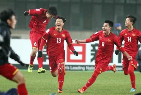 U23 Việt Nam làm rạng danh thể thao Việt Nam với tấm vé bán kết giải châu Á