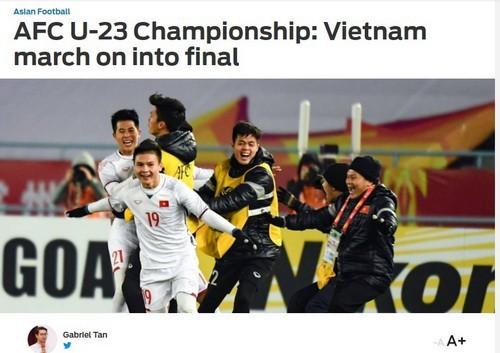 Tác giả Gabriel Tan bày tỏ sự thán phục trước các cầu thủ Việt Nam