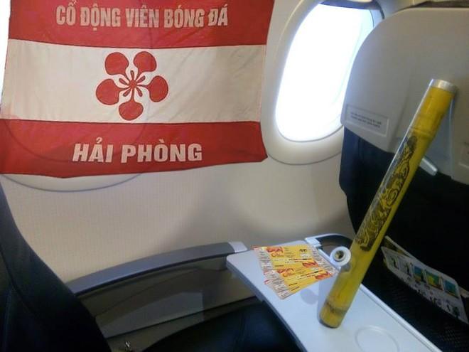 Cổ động viên Hải Phòng chia sẻ bức ảnh trên hành trình tới Thường Châu để cổ vũ thầy trò HLV Park Hang-seo