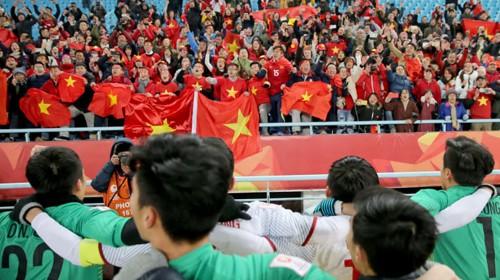 Nhiều người hâm mộ sẽ có mặt trực tiếp tại sân Thường Châu để cổ vũ đội tuyển