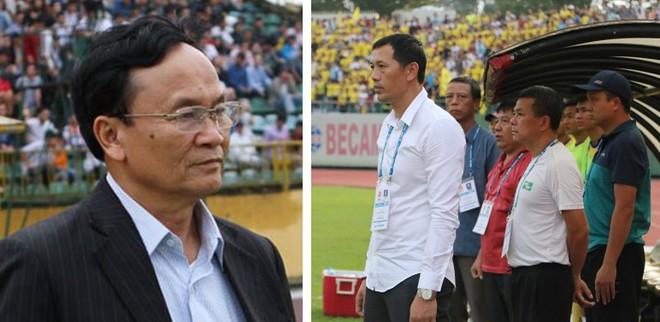 Chủ tịch CLB SLNA Nguyễn Hồng Thanh cho biết đã tích cực động viên để thầy trò HLV Nguyễn Đức Thắng nỗ lực, cùng nhau qua vượt qua giai đoạn khó khăn này