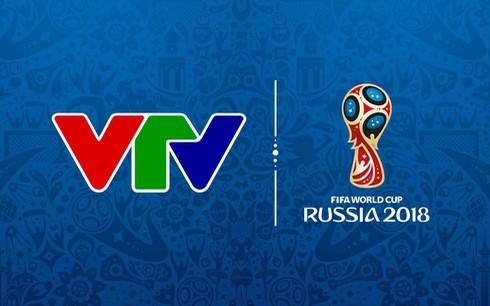VTV được độc quyền truyền hình, quyền truyền phát trên di động và internet... giải World Cup 2018 trên lãnh thổ Việt Nam