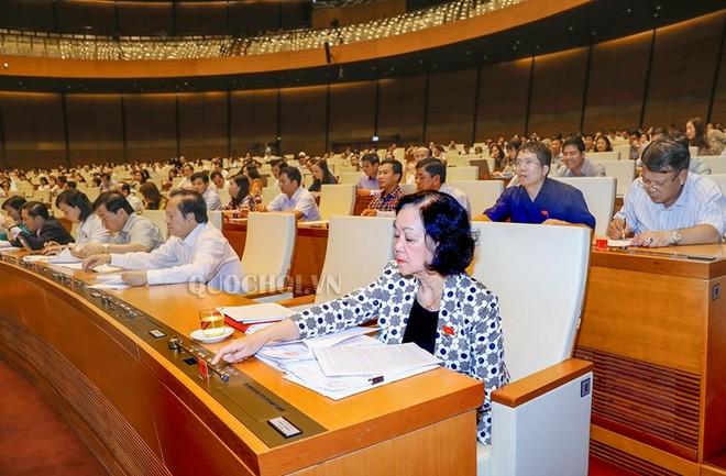 Quốc hội biểu quyết thông qua Luật Cạnh tranh (sửa đổi)