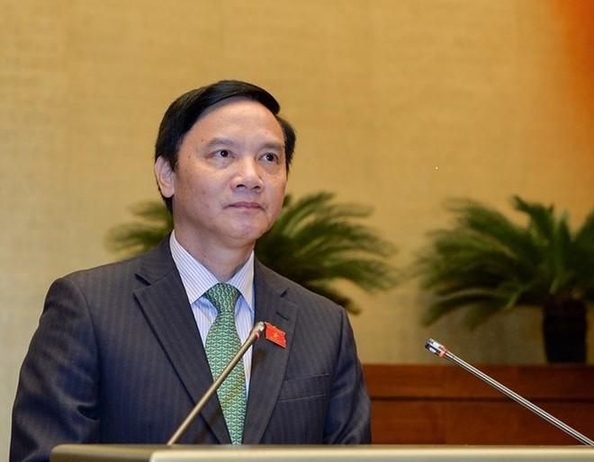 Chủ nhiệm Ủy ban Pháp luật Nguyễn Khắc Định cho biết đa số đại biểu không tán thành việc mở rộng hình thức tố cáo qua điện thoại, thư điện tử, fax