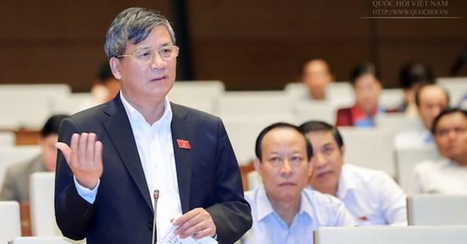 Đại biểu Nguyễn Anh Trí cho rằng quy định nghĩa vụ kê khai tài sản quy định tại dự thảo luật chưa chặt chẽ