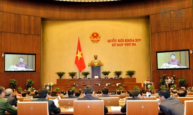 Quốc hội kết thúc kỳ họp thứ 5 sau 21 ngày làm việc thẳng thắn, trách nhiệm, hiệu quả