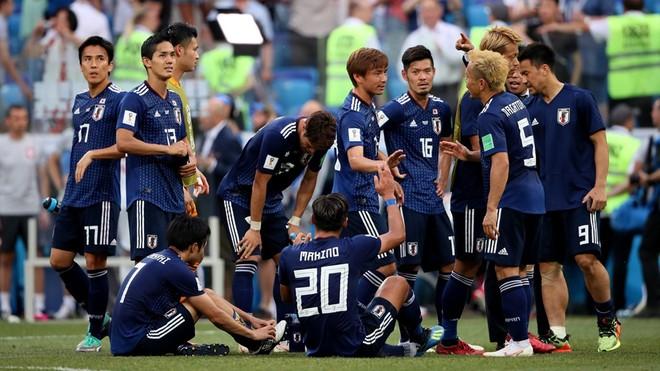 Tuyển Nhật Bản đi tiếp nhờ chỉ số fairplay