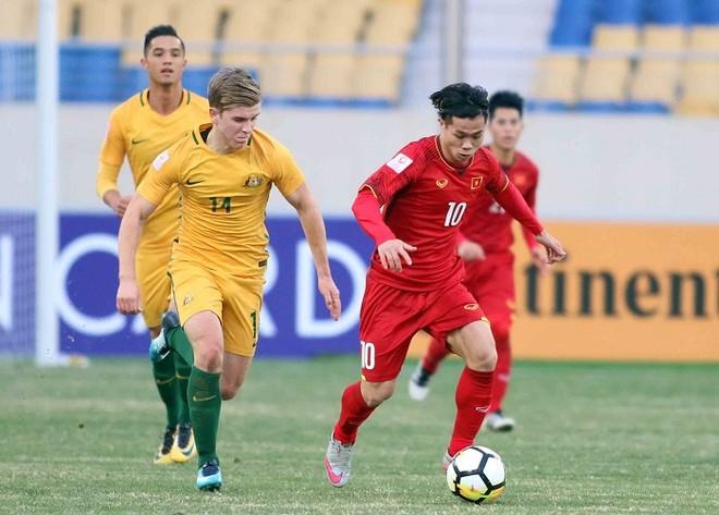 """VFF thôi mời U23 Australia (áo vàng) và chọn một đội """"quân xanh"""" chất lượng khác cho Olympic Việt Nam"""