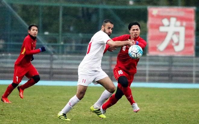 U23 Palestine từng giao hữu và hòa U23 Việt Nam 1-1 trước khi cả hai đội cùng dự VCK U23 châu Á 2018.