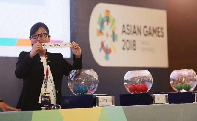 Lễ bốc thăm bóng đá nam ASIAD tổ chức hôm 5-7 không có tên UAE và Palestine khiến chủ nhà Indonesia bị khiếu nại ngay sau đó