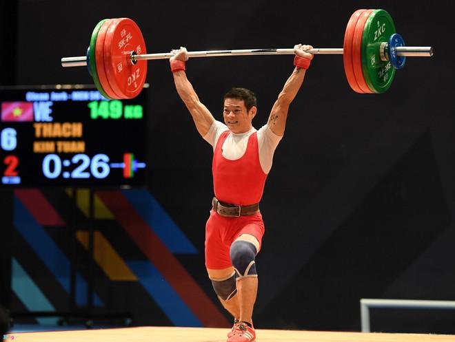 Sự trở lại của cử tạ Trung Quốc khiến cơ hội giành HCV của Thạch Kim Tuấn và các VĐV hạng 56kg nam gian nan hơn rất nhiều