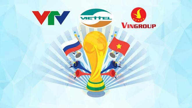 VTV cũng từng phải nhờ tới sự hỗ trợ tài chính của hai tập đoàn kinh tế trong nước mới có thể mua thành công bản quyền World Cup 2018
