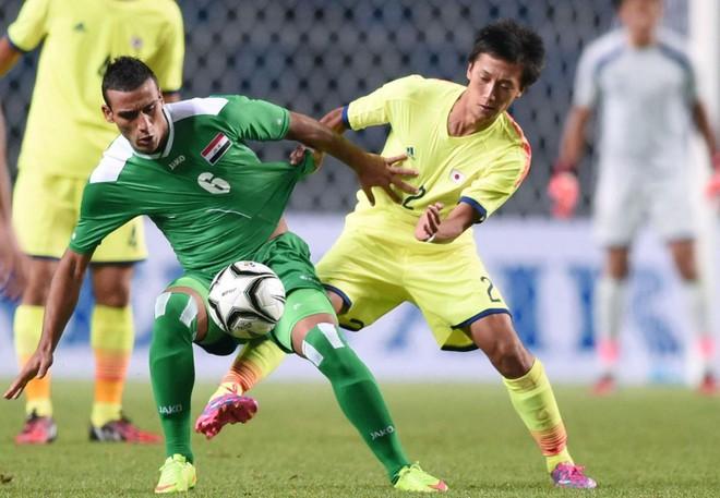 Iraq (trái) bỏ giải khiến môn bóng đá nam ASIAD nguy cơ hỗn loạn trước giờ khai màn