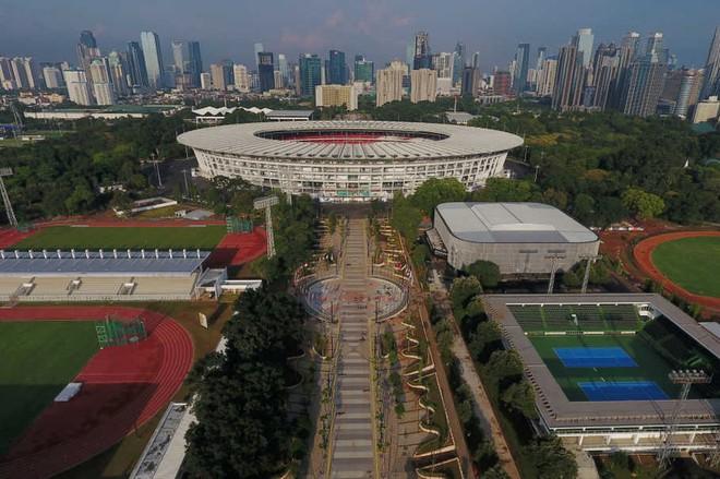 Sân vận động Bung Karno ở thủ đô Jakarta sẽ là nơi diễn ra lễ khai mạc ASIAD 2018