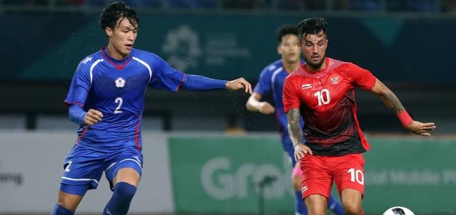 Cầu thủ gốc Hà Lan, Stefano Lilipaly (số 10) khai thông bế tắc cho Indonesia ở phút 67