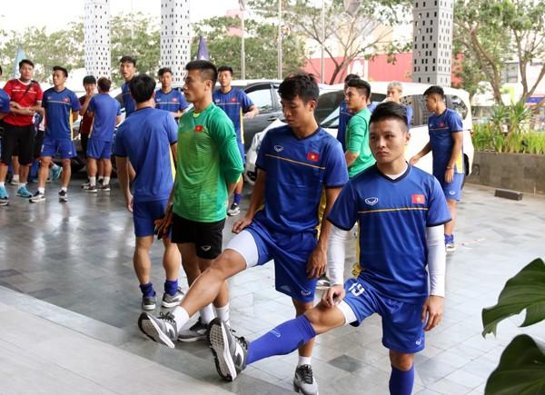 Phóng viên Việt Nam sẽ không được tác nghiệp trong các buổi tập mà Olympic Việt Nam tự ý chọn sân tập, thay vì sân do ban tổ chức bố trí