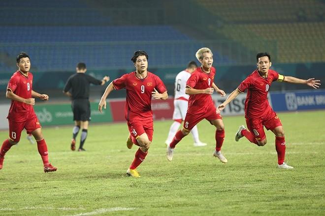 Trước vòng tứ kết ASIAD, Olympic Việt Nam đã bỏ túi 1,65 tỷ đồng tiền thưởng