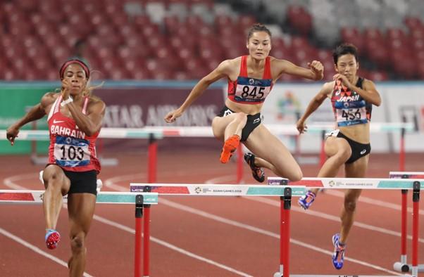 Quách Thị Lan (số 845) giành tấm HCB lịch sử, phá kỷ lục SEA Games, kỷ lục quốc gia