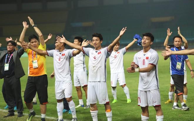 Olympic Việt Nam đang thăng hoa tại ASIAD 2018