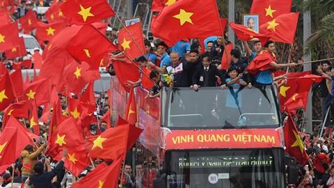 Đại diện ban tổ chức sự kiện bỏ ngỏ khả năng tổ chức lễ diễu hành đón đoàn từ sân bay Nội Bài về sân Mỹ Đình như đã từng diễn ra sau khi U23 Việt Nam giành Á quân giải châu Á 2018