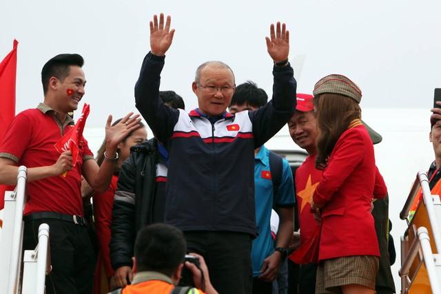 Sẽ có buổi lễ long trọng và truyền hình trực tiếp mừng công thầy trò Park Hang-seo cùng các thành viên đoàn thể thao Việt Nam