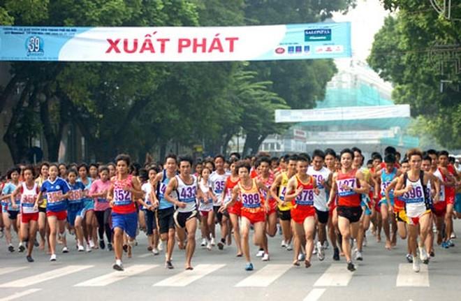 Khoảng 1.500 VĐV sẽ thi chung kết giải chạy báo Hà Nội mới vào ngày 30-9 tới