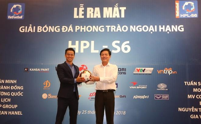 HPL-S6 sẽ sử dụng bóng thi đấu
