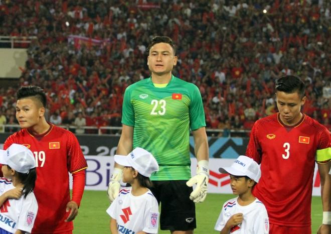 Đặng Văn Lâm đi vào lịch sử AFF Cup khi là thủ môn có thời gian sạch lưới dài nhất