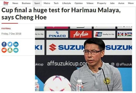 """Tờ The Star nhấn mạnh việc thầy trò Tan Cheng Hoe đã dựng sẵn """"sân khấu"""" đợi """"phục thù"""" ĐT Việt Nam tại chảo lửa Bukit Jalil"""